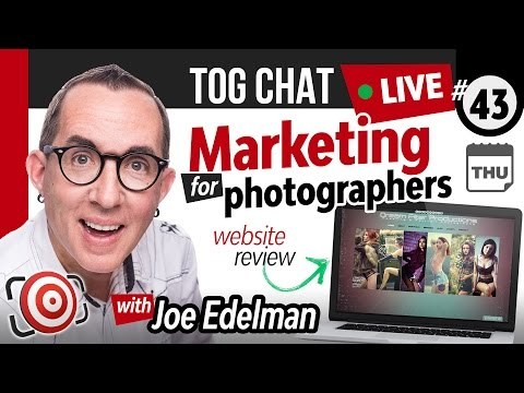 🔴 LIVE TogChat™ #43 - Marketing for Photographers - Tips, Website and Social Media Reviews - 동영상