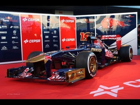 Toro Rosso STR8 - 2013 F1 Car for Formula 1 2013 Season