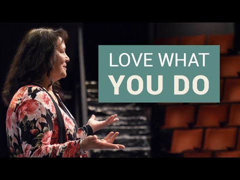 "Love What You Do // Acting Professor Evangeline ""Angie"" Bitsko"