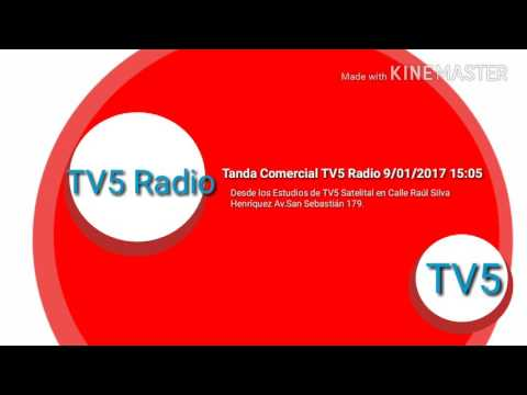 Tanda Comercial Radial TV5 Radio 09/01/2017