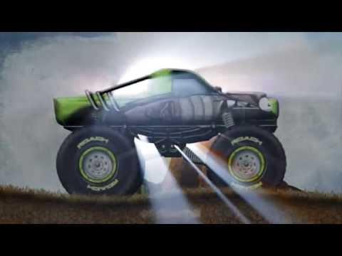 Stickman Downhill - Monster Truck (Official Trailer)