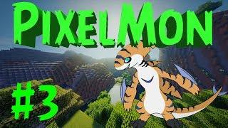 PixelMon Generations! Выживание на сервере!!! | Новые древние покемоны!!! #3