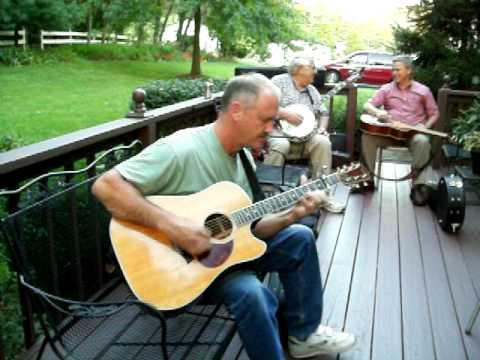 David Crum jammin on the guitar