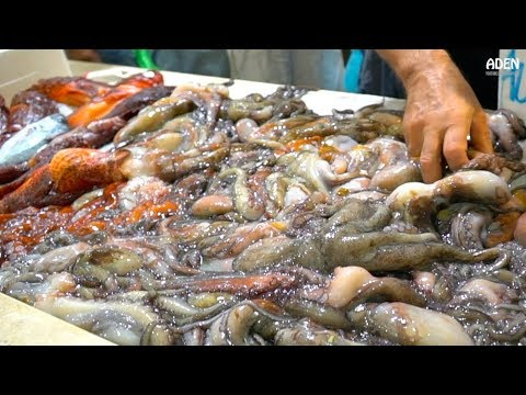 Fish Market In Sardinia - Italy