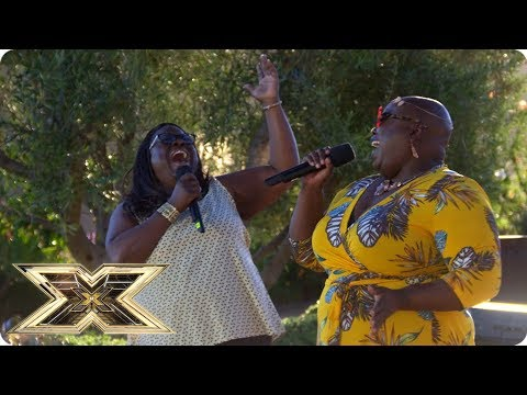 Ain't No Mountain High Enough for Panda and Burgandy | Judges' Houses | The X Factor UK 2018