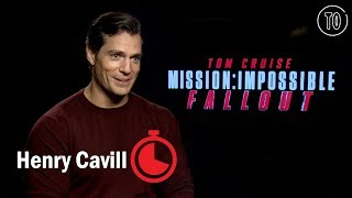 Henry Cavill can't pronounce 'plutonium'   Timed Out 'Mission: Impossible' interviews