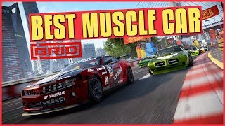 GRID | Best Muscle Car In The Game (Tuning Tips & Online Racing)