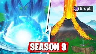 EVERYTHING We Know About Fortnite Season 9! (Season 9 Map + Battle Pass Leaks)