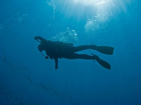 Diver Records His Own Death as He Sinks to The Ocean Floor