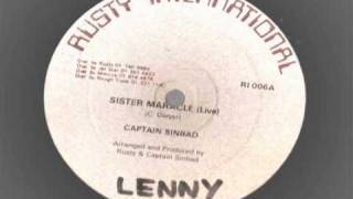 Captain Sinbad -  Sister Maracle - Rusty international records dancehall reggae live
