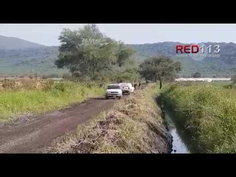 VIDEO Encuentran a un hombre ejecutado en brecha de Zamora
