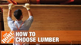 Lumber Buying Guide: Wood for Woodworking & Construction Wood