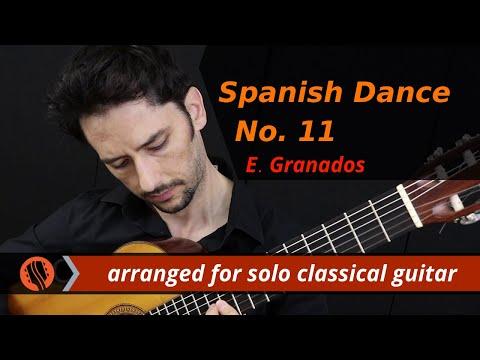 Spanish Dance No. 11 'Zambra' by E. Granados (arranged by Emre Sabuncuoglu)