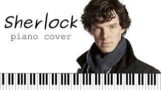 Sherlock Holmes BBC ►  Main Theme (Piano Сover)