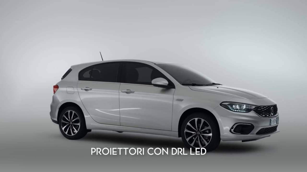 fiat tipo 5 porte eleganza compatta youtube. Black Bedroom Furniture Sets. Home Design Ideas