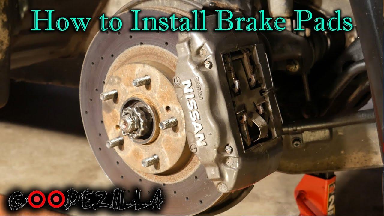 Hawk Brake Pads >> How To Change Brake Pads on a R32 Skyline GTR - YouTube