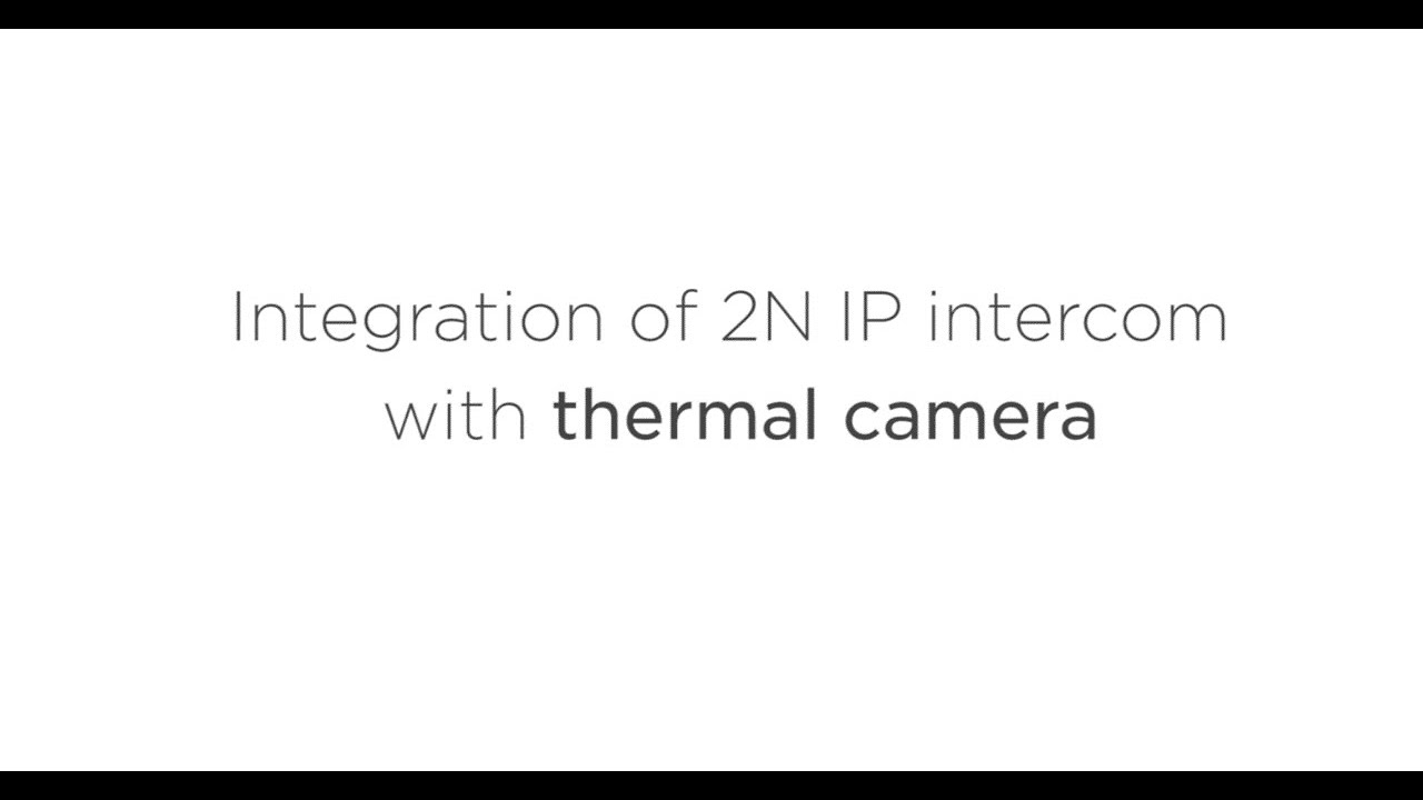 2N automation function - Thermal camera