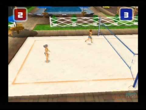 Power Volleyball PS2 Gameplay ( Phoenix Games ) Playstation 2