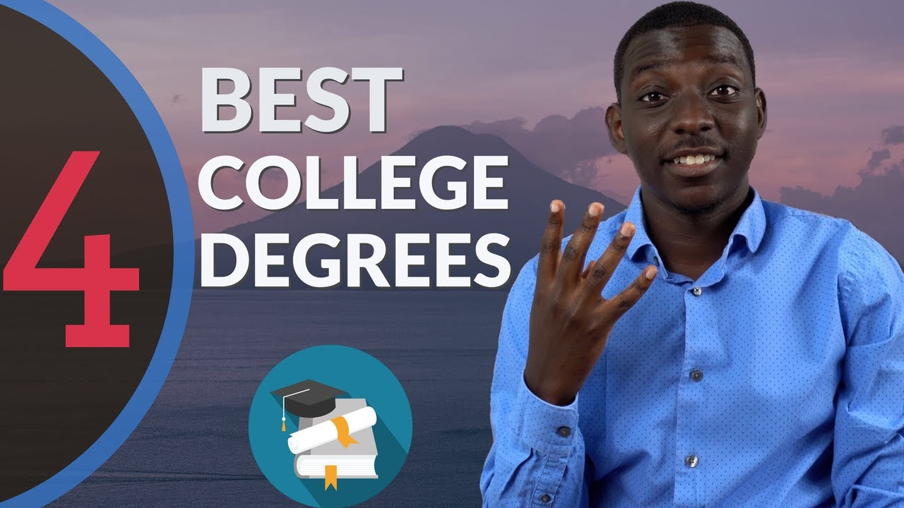 Top 4 College Degrees for 2020