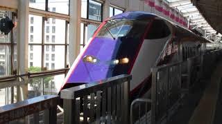 山形新幹線E3系2000番台連結作業 福島駅にて