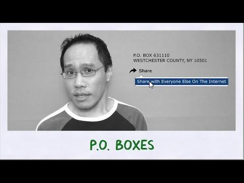 P.O. Boxes