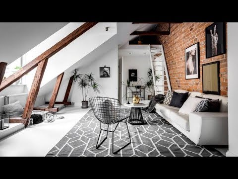 the-sims-4-|-scandinavian-attic-loft-apartment-|-speed-build-+-download-links