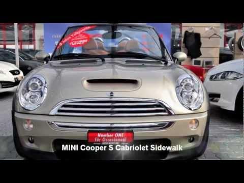 mini cooper s cabriolet sidewalk 28034 auto kunz ag. Black Bedroom Furniture Sets. Home Design Ideas