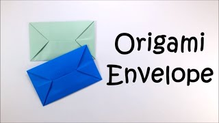 Origami Envelope - Easy Origami Tutorial For Beginners - Paper Envelopes DIY Paper Folding