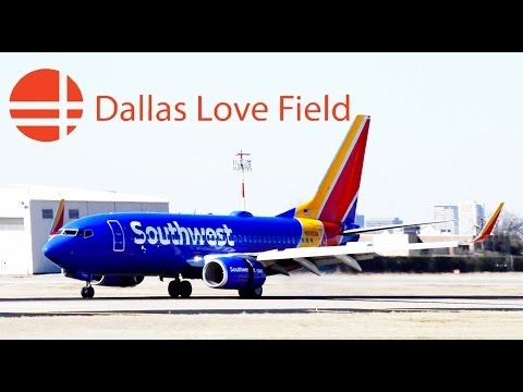 More plane spotting in Southwest Airline's Hometown Airport, Dallas Love Field