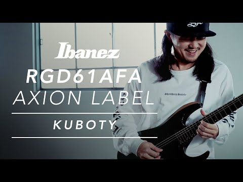 Kuboty with Ibanez Axion Label RGD61ALA-MTR