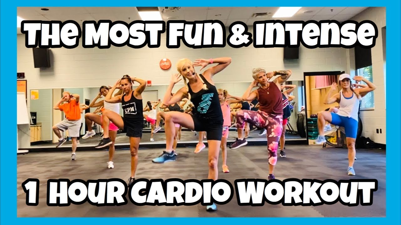 The Most Fun & Intense 1 Hour Cardio Workout
