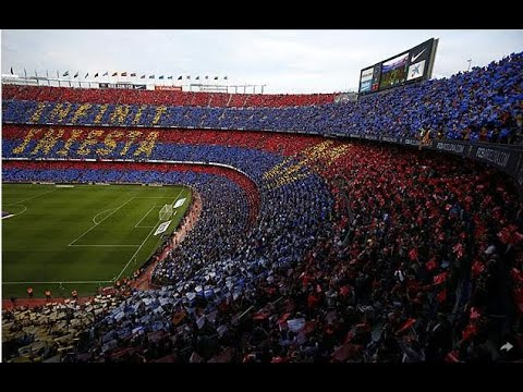 Camp Nou Pays Tribute As Andres Iniesta Bids FC Barcelona Farewell