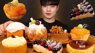 슈크림 크림치즈 생크림 등 조각케이크 과일 타르트 리얼…