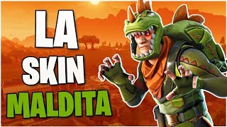 "LA NUEVA SKIN ""REX"" ESTÁ MALDITA!! - Fortnite: Battle Royale"