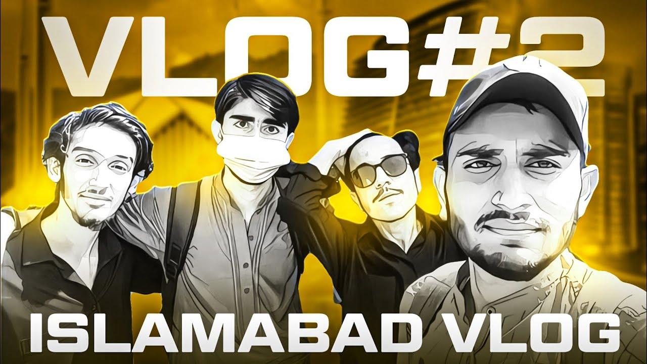 VLOG #2 - Islamabad Tour With Creators 🔥   Half Facecam 😂   VIRUS GAMING