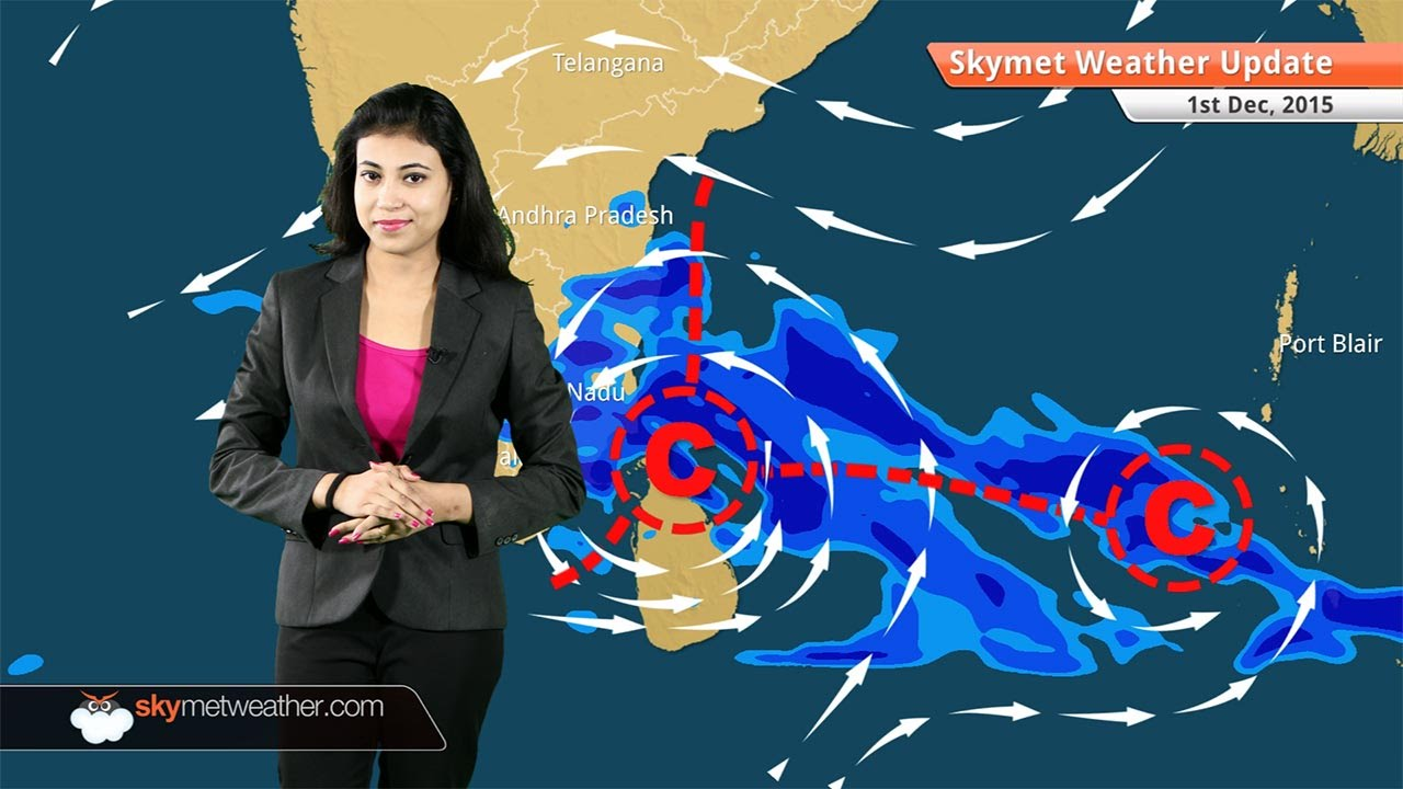 Weather Forecast for December 1: Heavy rain in Chennai, Tamil Nadu, Andhra  Pradesh once again