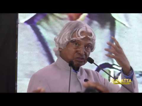Dr.A P J  Abdul Kalam Inaugurates CEER at Sathyabama University | Galatta Tamil