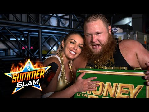 Otis rates Mandy Rose's caterpillar after her SummerSlam win: WWE Network Exclusive, Aug. 23, 2020