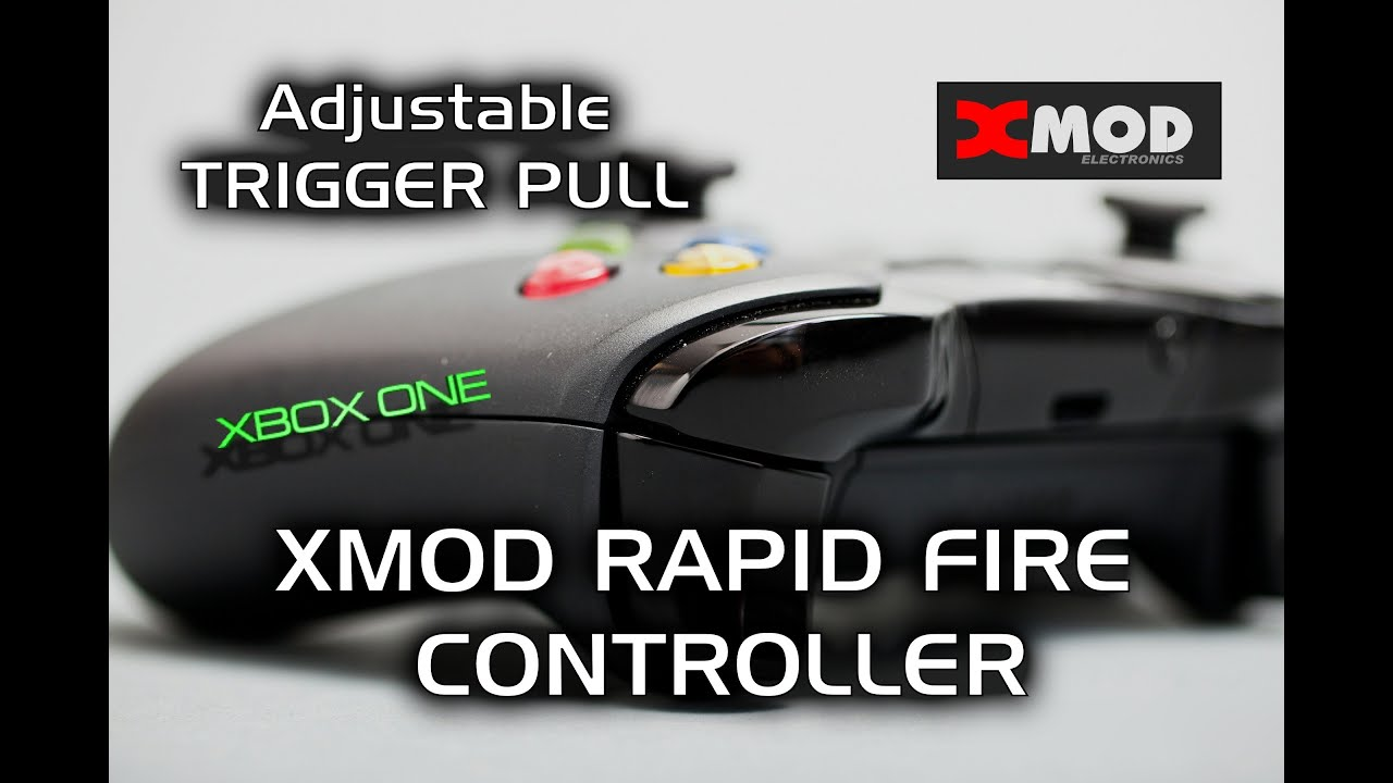 xbox one trigger pull demo xmod rapid fire modded controller review modchip black ops 3 aw
