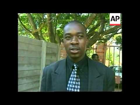 ZIMBABWE: RIOTS OVER RISING FOOD PRICES