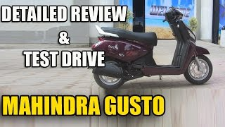 Mahindra Gusto Test Ride & Detailed Review | TAKE A LOOK !