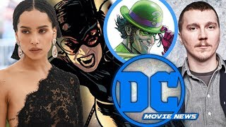 Paul Dano Cast as 'The Riddler' and Zoe Kravitz Cast as 'Catwoman'!