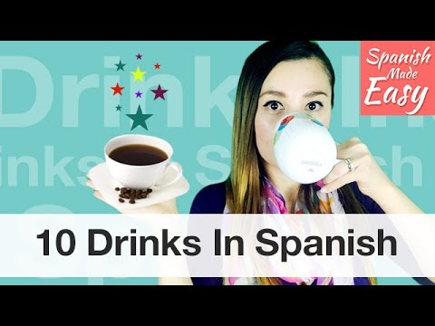 How to say the energy drink in spanish