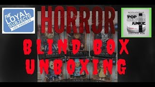 Loyal Subjects HORROR Blind Box Vinyl Figures Unboxing 2018 Review CLUB 28