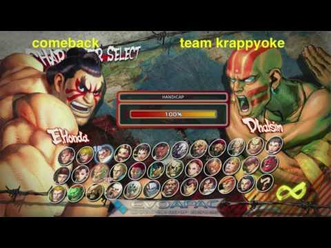 EVO APAC - comeback vs team karaoke - TEAM BATTLES - 2010.05 part 2of3
