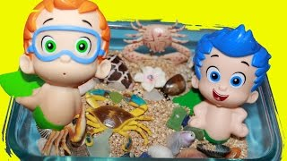 Bubble Guppies Surprise Eggs Mermaid Stacking Cups Nickelodeon Toys Collector Kinder Surprise Egg