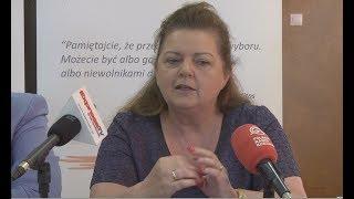 Renata Beger zapowiada bojkot wyborów samorządowych