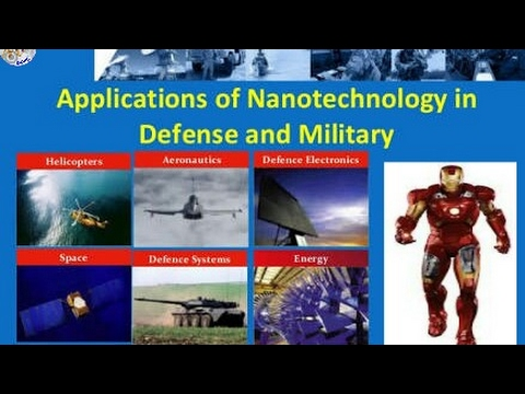 Applications of Nanotechnology in defense and military in Telugu