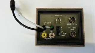 ВЧ модулятор ( RF modulator ) своими руками.