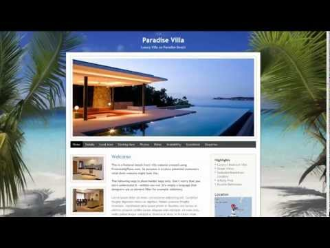 PromoteMyPlace - Create a Website for your Holiday Cottage, Villa or Apartment